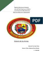 Trabajo de La Historia de Las Armas (Radames)