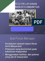 3b. Strategi Pelayanan Kebidanan Di Komunitas