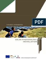 Solar PV Installation - Training Handbook 2017