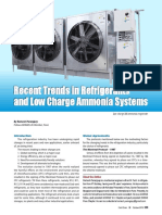 Recent Trends in Refrigeration and Low Charge Ammonia Systems