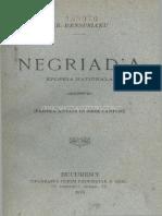 Negriada  epopeia nationala 1