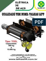 Talhas Lift Catalogo Talha Eletrica de Cabo