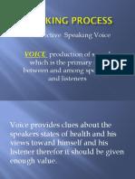 Speaking Process
