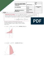 Practica Nro 11 Volumenes Método de Discos o Arandelas