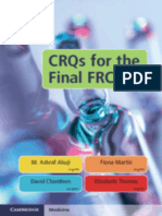 CRQs for the Final FRCA 2019