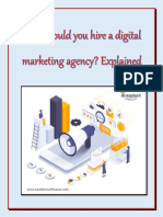Why should you hire a digital marketing agency? Explained