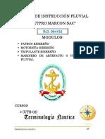 UNIDAD 01 UTB 02 Terminologia Nautica