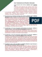 Discursivas Fundamentos de Filosofia e Educação.docx · versão 1.pdf