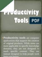 Productivity Tools Ppt