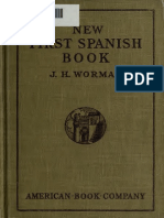 New First Spanish Book, After the Natural or Direct Method, For Schools and Self Instruction