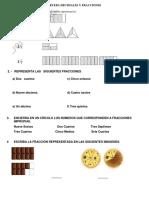 Prueba 1 - Decimales y Fracciones