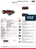 Msi Geforce Gtx 1070 Gaming x 8g Datasheet
