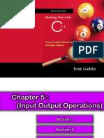 Week6 Chap5 -Input Output Operation