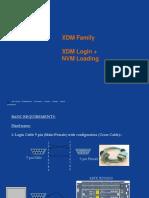 4. XDM Login & NVM Loading