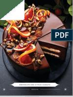 Recette Chocolate and Citrus Cassata