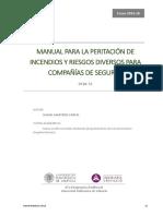 Martínez - Manual Para La Peritacion de Incendios y Riesgos Diversos en Compañias de Seguros. Est...