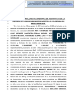 ACTA Asamblea Cambio de Domicilio Mendez Negrette Corregida