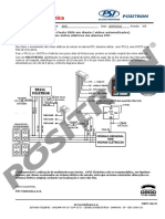 245_Acionamento Dos Vidros Elétricos via Alarmes Pósitron, Ford Ecosport e Fiesta 2006 Em Diante (Vidros Automatizados)