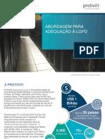 Abordagem para Adequação da LGPD