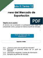 12_Perfil Del Mercado de Exportación