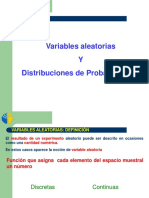 Variable Aleatoria y Distribuciones