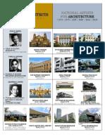 Filipino Architects + Famous Works