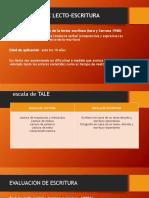 EVALUACION DE LECTO-ESCRITURA.pptx