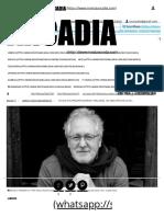 'Lo Que Fue Presente (Diarios 1985-2006)', Un Adelanto de Lo Nuevo de Héctor Abad Faciolince