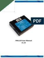 FM1110 User Manual v1.15