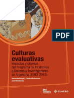 Culturas evaluativas