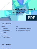 career investigation project - madolyn lewis