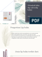 kosmetologi lip balm transparan lipstik.pptx