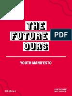 Labour Youth Manifesto 2019