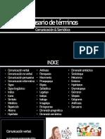 Glosario de términos-Pedro Zamora, Carlos Meriño