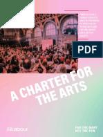 2019 Arts Charter