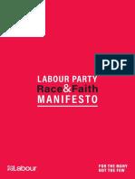 Race and Faith Manifesto 2019