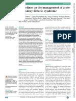 Guideline Management ARDS