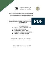 TRANSTORNOS HIPERTENSIVOS
