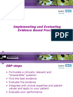 Implementing Evaluating Ebp-14