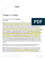 Tinitigan vs Tinitigan