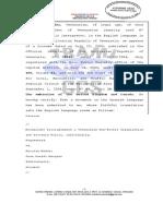 Denuncia de Leocenis García contra Juan Guaidó y Nicolás Maduro