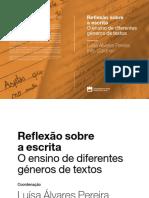 Reflexão sobre a escrita O ensino de diferentes géneros de textos.pdf