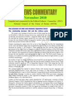 PDC Monthly News Commentary - November 2010