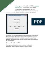 Proyecto Con Visual Basic