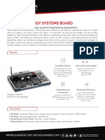 Quanser Energy Systems Board Datasheet