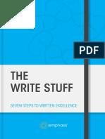 The Write Stuff 5 Th