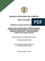 documento de red