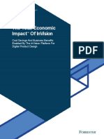 The Total Economic Impact™ Of InVision