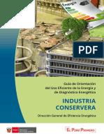 Uso Efeciente de La Energia en La Industria Conservera