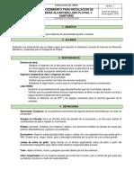 Procedimiento Instalacion de Tuberia Alcantarillado Pluvial y Sanitario